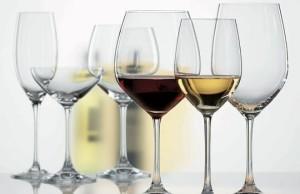 välj rätt vinglas för en vinprovning